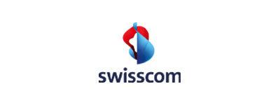 Logo von Swisscom AG
